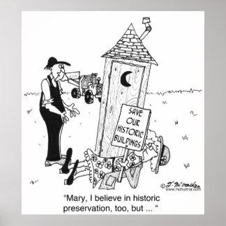 ¿Preservación histórica de dependencias? Póster