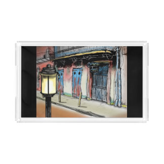 PRESERVATION HALL NEW ORLEANS  by Slipperywindow Serving Tray