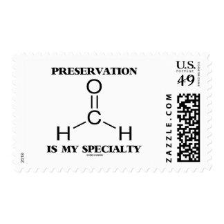 Preservation Is My Specialty Formaldehyde Molecule Postage