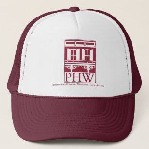 a995289d3f Preservation of Historic Winchester Logo Trucker Hat