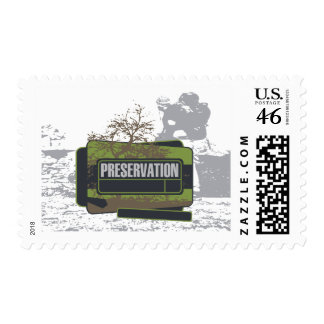 Preservation Tshirts and Gifts Stamp