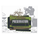 Preservation Tshirts and Gifts Postcard