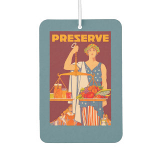 Preserve Car Air Freshener