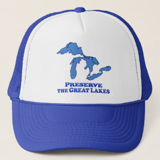 Preserve Great Lakes - Trucker Hat