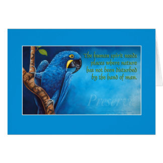 Preserve Greeting Card
