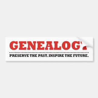 Preserve & Inspire Car Bumper Sticker
