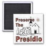 Preserve los imanes de Presidio Iman Para Frigorífico