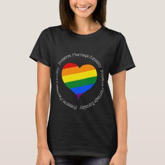 Preserve marriage equality black pride tshirt