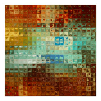 Preserve Me, O God. Psalm 16:1. Abstract Art Posters
