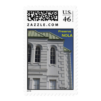 Preserve New Orleans Stamp