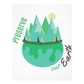 Preserve Our Earth Letterhead