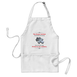 Preserve Our Military Adult Apron