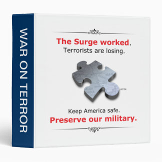 Preserve Our Military Binder