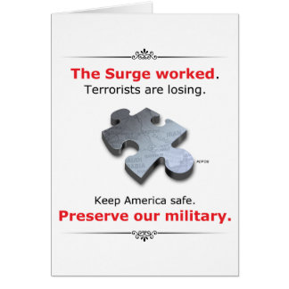 Preserve Our Military Card