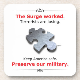Preserve Our Military Coaster