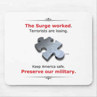 Preserve Our Military Mouse Pad