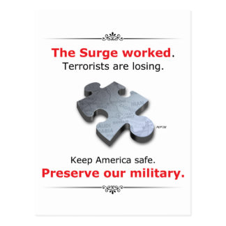 Preserve Our Military Postcard