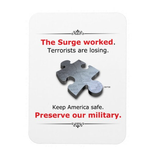 Preserve Our Military Magnet
