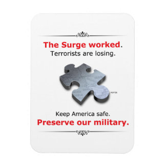 Preserve Our Military Rectangular Photo Magnet