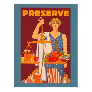 Preserve Postcard