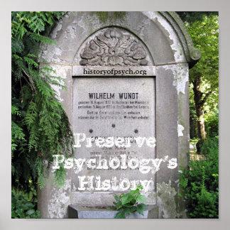 Preserve Psychology's History Poster