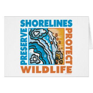 Preserve Shorelines - Protect Wildife Card