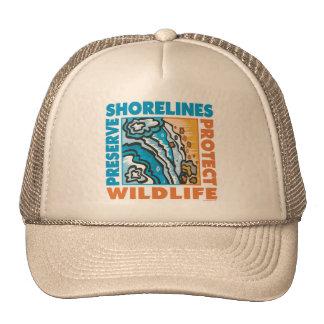 Preserve Shorelines - Protect Wildife Mesh Hats