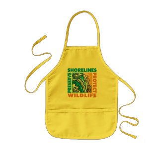 Preserve Shorelines - Protect Wildife Kids' Apron