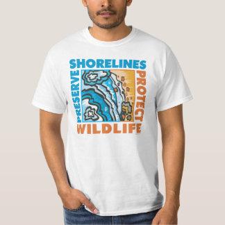 Preserve Shorelines - Protect Wildife Tee Shirt