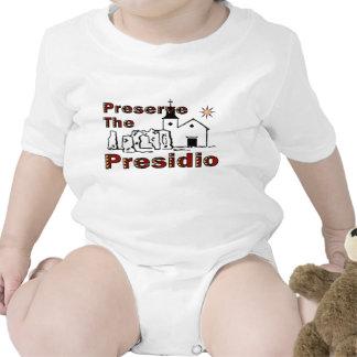 Preserve the Presidio for baby Bodysuit