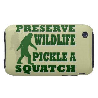 Preserve wildlife pickle a squatch tough iPhone 3 case