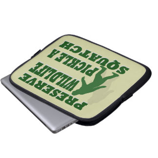 Preserve wildlife pickle a squatch computer sleeve