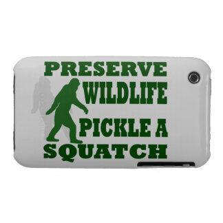 Preserve wildlife pickle a squatch iPhone 3 Case-Mate case
