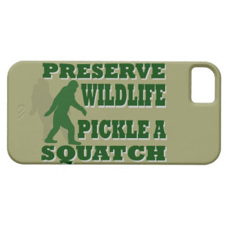 Preserve wildlife pickle a squatch iPhone SE/5/5s case