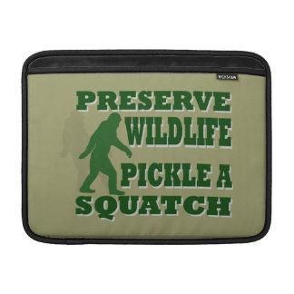 Preserve wildlife pickle a squatch MacBook air sleeve