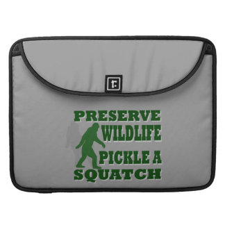 Preserve wildlife pickle a squatch MacBook pro sleeve
