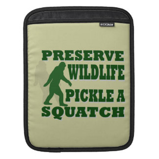 Preserve wildlife pickle a squatch sleeve for iPads