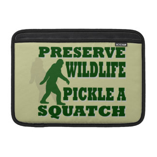 Preserve wildlife pickle a squatch sleeve for MacBook air