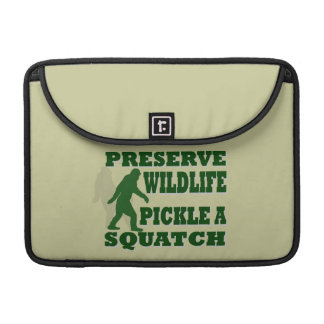 Preserve wildlife pickle a squatch sleeve for MacBooks