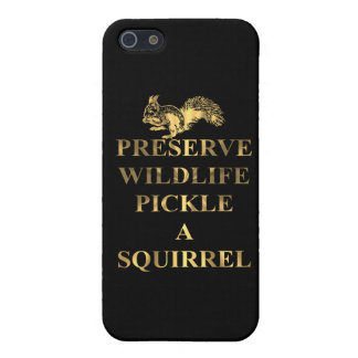 Preserve wildlife pickle a squirrel iPhone SE/5/5s case