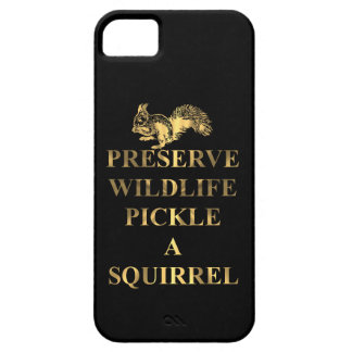 Preserve wildlife pickle a squirrel iPhone SE/5/5s case