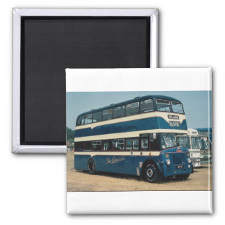 """Preserved Leyland decker owned by """"""""The Delaine"""""""" Magnet"""