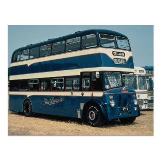 "Preserved Leyland decker owned by """"The Delaine"""" Postcard"