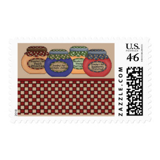 preserves card postage stamp