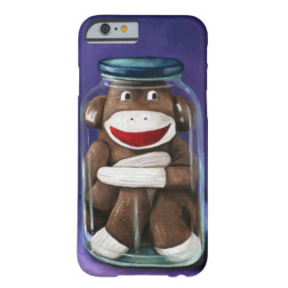 Preserving Childhood with Sock Monkey Barely There iPhone 6 Case