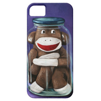 Preserving Childhood with Sock Monkey iPhone 5 Case