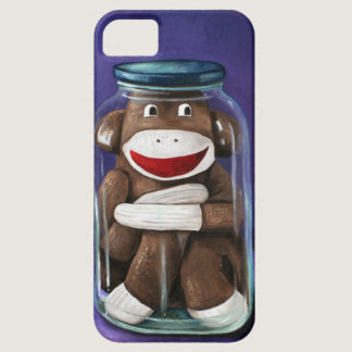 Preserving Childhood with Sock Monkey iPhone SE/5/5s Case