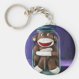 Preserving Childhood with Sock Monkey Keychain