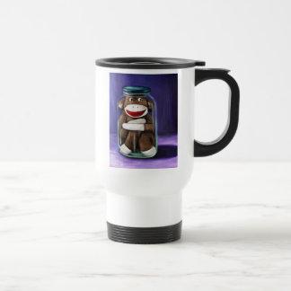 Preserving Childhood with Sock Monkey Coffee Mugs