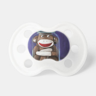 Preserving Childhood with Sock Monkey Pacifier